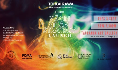 Launch of Māori STEAM Strategy